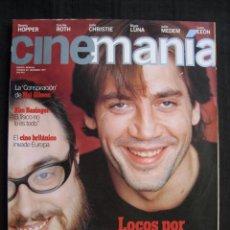 Cine: REVISTA CINEMANIA - Nº 26 - NOVIEMBRE 1997.. Lote 102951703