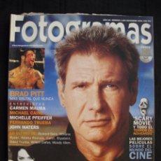 Cine: REVISTA FOTOGRAMAS - Nº 1.885 - NOVIEMBRE 2000.. Lote 103129659