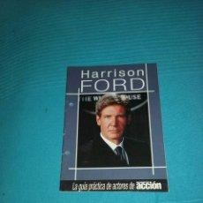 Cine: LA GUÍA PRÁCTICA DE ACTORES DE ACCIÓN CINE Y VÍDEO. HARRISON FORD. Lote 103137963