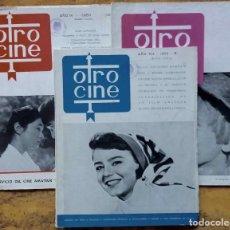 Cine: LOTE 3 REVISTAS OTRO CINE Nº5, 36 Y 40. DE LOS AÑOS 1952, 1959 Y 1960. 3 REVISTAS. Lote 103215303