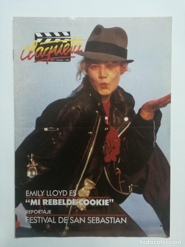 REVISTA CLAQUETA Nº 7 OCTUBRE 1989 (Cine - Revistas - Claqueta)