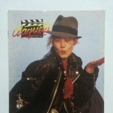 Cine: REVISTA CLAQUETA Nº 7 OCTUBRE 1989. Lote 103477647