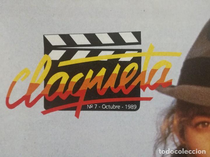 Cine: REVISTA CLAQUETA Nº 7 OCTUBRE 1989 - Foto 2 - 103477647