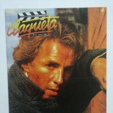 Cine: REVISTA CLAQUETA Nº4 JUNIO 1989. Lote 103477719