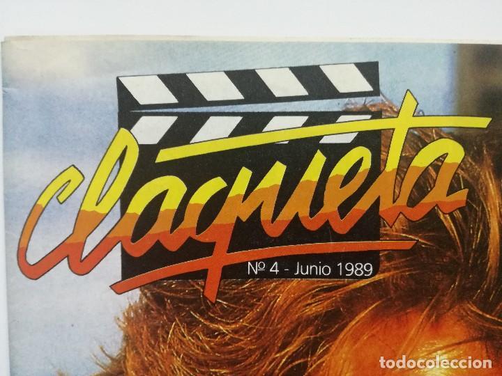 Cine: REVISTA CLAQUETA Nº4 JUNIO 1989 - Foto 2 - 103477719