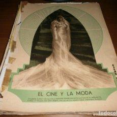 Cine: COLECCIONABLE EL CINE Y LA MODA - REVISTA FILM SELECTOS - AÑOS 30.. Lote 103478327
