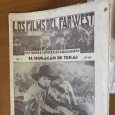 Cine: LOS FILMS DEL FAR WEST Nº 1 BUEN ESTADO. Lote 103511195