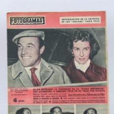 Cinema: REVISTA CINEMATOGRÁFICA - FOTOGRAMAS, 1953 Nº 227 - GENE KELLY, BETSY BLAIR, SILVANA MANGANO.... Lote 103567819