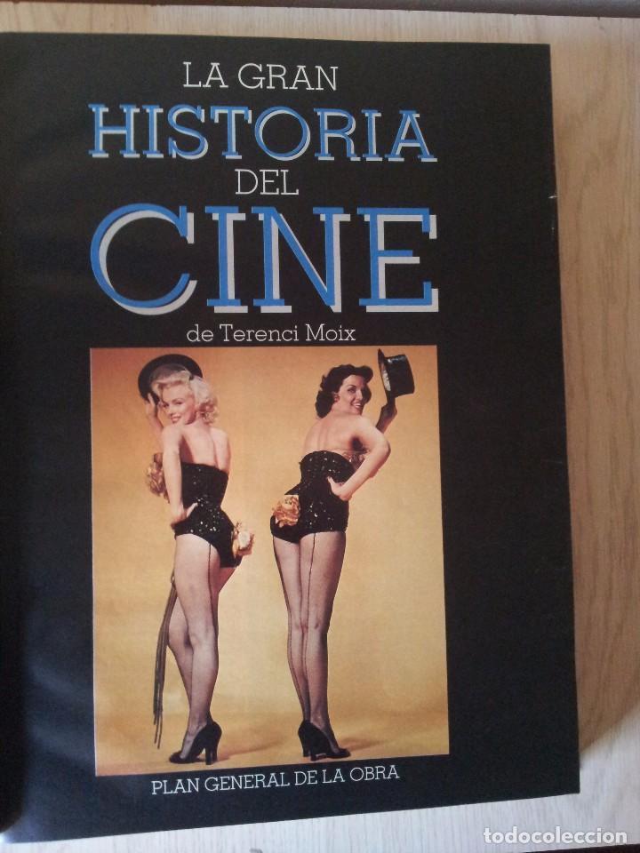 Cine: TERENCI MOIX - LA GRAN HISTORIA DEL CINE, 55 CAPITULOS EN UN TOMO - PRENSA ABC, BLANCO Y NEGRO. - Foto 2 - 103655719