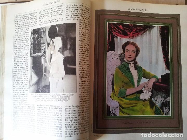 Cine: TERENCI MOIX - LA GRAN HISTORIA DEL CINE, 55 CAPITULOS EN UN TOMO - PRENSA ABC, BLANCO Y NEGRO. - Foto 3 - 103655719