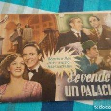 Cine: NOVELA CINEVIDA, SE VENDE UN PALACIO, PORTADA SUELTA. Lote 103734331