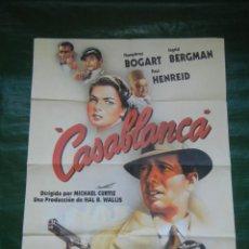 Cine: CARTEL PELICULA CASABLANCA , EDICION LIMITADA NUMERADA . Lote 103745875