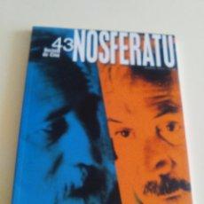 Cine: REVISTA DE CINE NOSFERATU. ADOLFO ARISTAIN./ FEDERICO LUPPI. MARZO 1993. NUEVA. NUNCA USADA.. Lote 103802395
