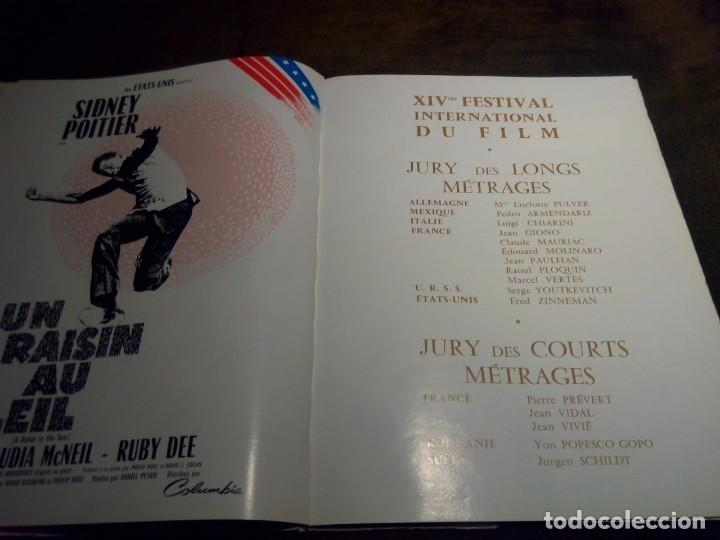 Cine: Revista XIV edicion festival de Cannes año 1969 - Foto 2 - 103803167