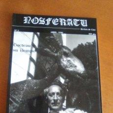 Cine: REVISTA NOSFERATU. Nº 3. COCTEAU Y SU TIEMPO. ABRIL 1990. NUEVA. NUNCA USADA.. Lote 103804171