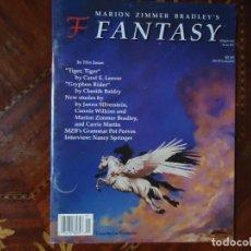 Cine: REVISTA. FANTASY, Nº 41 DE 1998, NUEVA EN INGLÉS. MAGAZINE OF MARION ZIMMER BRADLEY'S. NEW UNUSED.. Lote 103998871