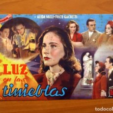 Cine: LUZ EN LAS TINIEBLAS, Nº 20 - ALIDA VALLI, FOSCO GIACHETTI - CINEVIDA - EDITORIAL HISPANO AMERICANA . Lote 104271799