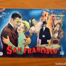 Cine: SAN FRANCISCO, Nº 24 - CLARK GABLE, SPENCER TRACY - CINEVIDA - EDITORIAL HISPANO AMERICANA . Lote 104275399