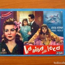Cine: LA NIÑA ESTÁ LOCA, Nº 5 - JOSITA HERNAN, ISMAEL MERLO - CINEVIDA - EDITORIAL HISPANO AMERICANA . Lote 104275843