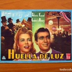 Cine: HUELLA DE LUZ, Nº 4 - ANTONIO CASAL, ISABEL DE POMÉS - CINEVIDA - EDITORIAL HISPANO AMERICANA . Lote 104276619