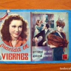 Cinema: NACIDA EN VIERNES, Nº 9 - VITTORIO DE SICA, ADRIANA BENETTI - CINEVIDA -EDITORIAL HISPANO AMERICANA . Lote 104278459