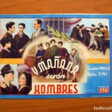 Cine: Y MAÑANA SERÁN HOMBRES, Nº 10 -SEBASTIÁN CHIOLA, MALISA ZINI -CINEVIDA -EDITORIAL HISPANO AMERICANA . Lote 104287287