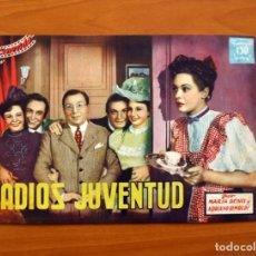 Cine: ADIOS JUVENTUD, Nº 22 - MARÍA DENIS, ADRIANO RIMOLDI - CINEVIDA - EDITORIAL HISPANO AMERICANA . Lote 104287763