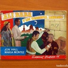 Cine: ALI BABA Y LOS 40 LADRONES - CUADERNOS CINEMATOGRÁFICOS Nº 2 - EDITORIAL GRAFIDEA 1945 . Lote 104287971