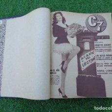 Cine: CINE EN 7 DIAS AÑO 1962 COMPLETO MARILYN MONROE - MARISOL - ROCIO DURCAL - ELVIS - DUO DINAMICO.... Lote 104296119