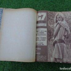 Cine: CINE EN 7 DIAS AÑO 1968 COMPLETO BEATLES - URSULA ANDRESS - SARA MONTIEL - MARISOL -ROCIO DURCAL .... Lote 104297075