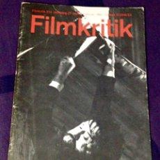Cine: FILMKRITIK #314. REVISTA CRÍTICA DE CINE EDICIÓN ALEMANA. SIMENON WENDERS HAMMETT. Lote 104332412