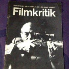 Cine: FILMKRITIK #329/330. MAY/JUN 1984 BUÑUEL REVISTA CRÍTICA DE CINE EDICIÓN ALEMANA. Lote 104332432