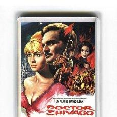 Cinema: IMAN ACRILICO NEVERA - CINE DOCTOR ZHIVAGO. Lote 104495431