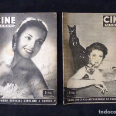 Cine: LOTE DE 2 REVISTAS CINE MUNDO. 1953. CARMEN SEVILLA. Lote 104862427
