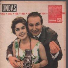 Cine: REVISTA ONDAS Nº 158/ AÑO 1959 , 34 PAG. 31X24 CM , MUNDI/REVISTA-73. Lote 105169395