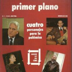 Cine: REVISTA PRIMER PLANO - Nº 1 - 1988. Lote 105270367