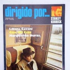 Cine: REVISTA DE CINE DIRIGIDO POR 41. STANLEY KUBRICK / LILIANA CAVANI / CINE DEL ESTE / M DURAS, 1977. Lote 156892452