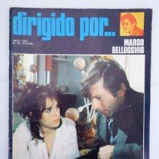 Cine: REVISTA DE CINE DIRIGIDO POR 43. MARCO BELLOCCHIO / BOROWCZYK / CUKOR / EL CINE DE LA REFORMA, 1977. Lote 156892397