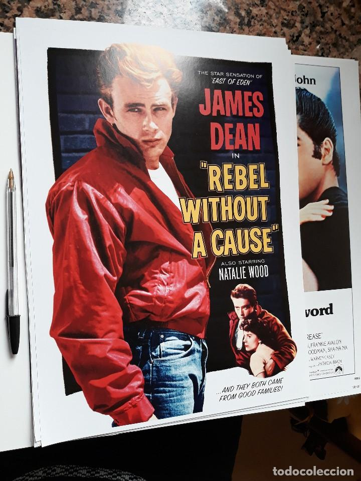 POSTER 26 X 36 CMS JAMES DEAN REBELDE SIN CAUSA NATALIE WOOD (Cine - Reproducciones de carteles, folletos...)