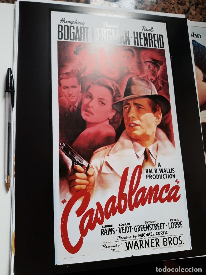 POSTER 26 X 36 CMS CASABLANCA HUMPHREY BOGART INGRID BERGMAN (Cine - Reproducciones de carteles, folletos...)