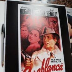 Cinema: POSTER 26 X 36 CMS CASABLANCA HUMPHREY BOGART INGRID BERGMAN. Lote 105949583