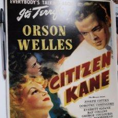 Cinema: POSTER 26 X 36 CMS ORSON WELLES CIUDADANO KANE . Lote 105949667