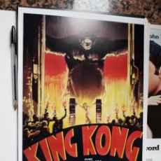 Cine: POSTER 26 X 36 CMS KING KONG. Lote 105949759