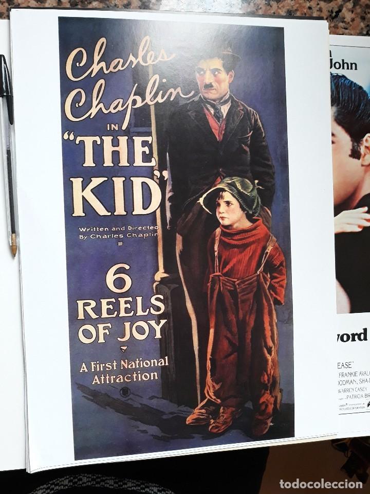 POSTER 26 X 36 CMS CHARLES CHAPLIN CHARLOT EL NIÑO THE KID (Cine - Reproducciones de carteles, folletos...)