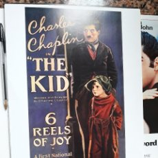 Cine: POSTER 26 X 36 CMS CHARLES CHAPLIN CHARLOT EL NIÑO THE KID. Lote 269498788