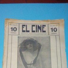 Cine: REVISTA EL CINE 1916 15 DE ABRIL Nº 222 AÑO V REVISTA POPULAR ILUSTRADA DIANA KARREN 10 CTS. 20 PGS.. Lote 106010827