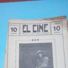 Cine: REVISTA EL CINE 1916 Nº 228 AÑO V MISS VIVIAN RICH REVISTA POPULAR ILUSTRADA 10 CTS. 20 PGS.. Lote 106011315