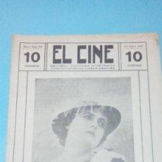 Cine: REVISTA EL CINE 1916 22 ENERO Nº 210 AÑO V FRANCESCA BERTINI REVISTA POPULAR ILUSTRADA 10 CTS 20 PGS. Lote 106011971