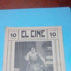 Cine: REVISTA EL CINE 1916 4 MARZO Nº 216 AÑO V CLARA WILSON REVISTA POPULAR ILUSTRADA 10 CTS. 20 PGS. Lote 106012119
