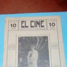Cine: REVISTA EL CINE 1916 3 JUNIO Nº 229 AÑO V WINIFRED GRENWOOD REVISTA POPULAR ILUSTRADA 10 CTS. 20 PGS. Lote 106012303